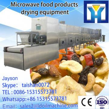 Stainless steel professional continuous microwave carrageenan powder drying equipment