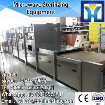 Full automatic microwave drying and sterilizing machine for fish