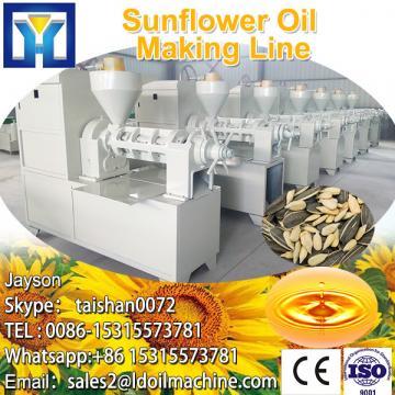 Large energy saving sunflower oil refining machine in argentina