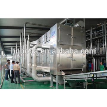 Stevia Multiple layer continuous type mesh belt dryer