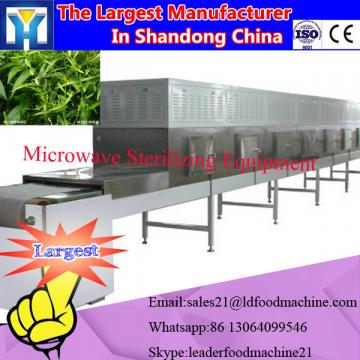 herb grass clean microwave drying equipment