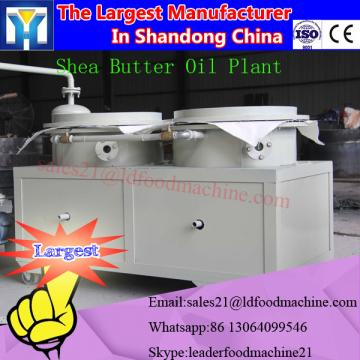 Full automatic crude animal fat oil refinery plant with low consumption