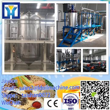 top quality continuous crude copra oil refining equipment