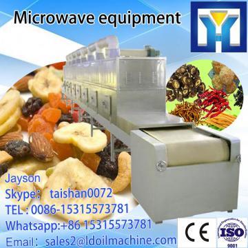 High capacity Tunnel belt Microwave Chemical Products Drying Equipment/Talcum powder processing machine/Talcum powder sterilizer