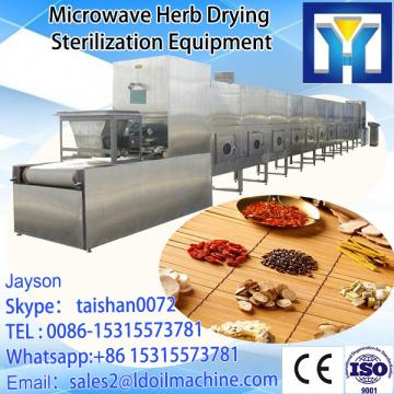 Industrial continuous Talcum powder microwave drying sterilization machine