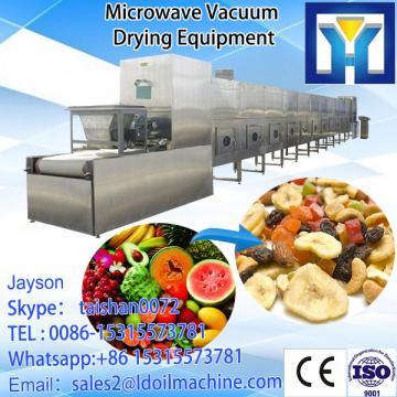 Industrial microwave drying and sterilizing machine for sanchi powder