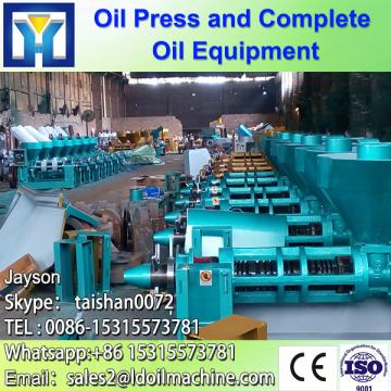 Palm oil press with low oil residual in the cake