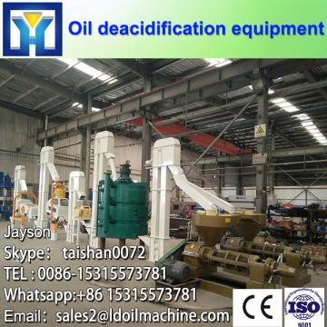 High performance machine to refine vegetable oil plant
