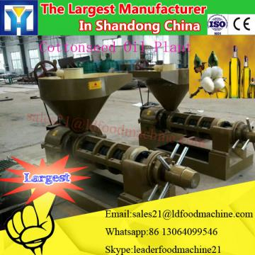 High capacity crude cooking oil refinery machine
