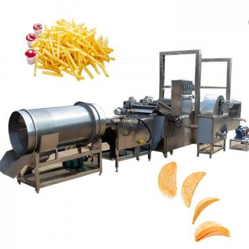 Automatic Potato chips cutting slicing machine potato chips making machine